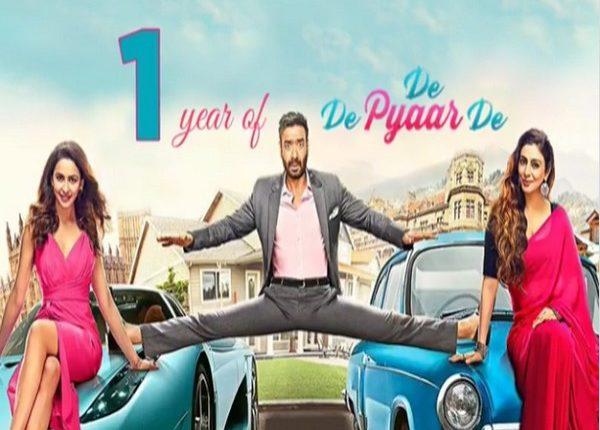 Ajay Devgn gets nostalgic as 'De De Pyaar De' clocks one year