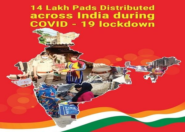 Niine Pads being distributed across India during COVID-19
