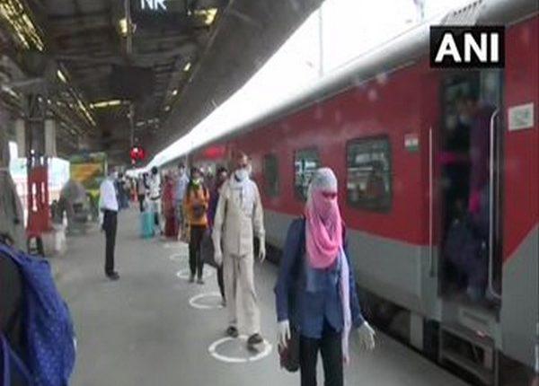A visual from New Delhi Railway Station. Photo/ANI