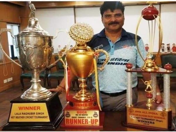 Former Delhi cricketer Sanjay Dobal  (Image: Mohammad Kaif's Twitter)